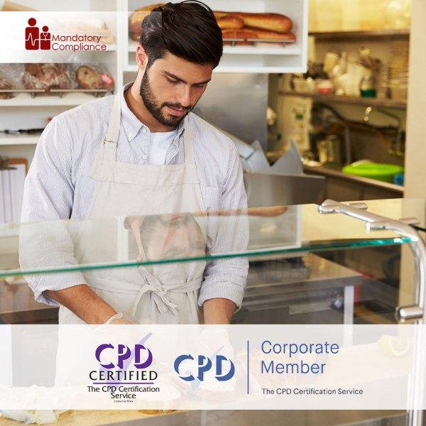 Food Safety – Level 2 – Online Training Course – CPDUK Accredited – Mandatory Compliance UK –