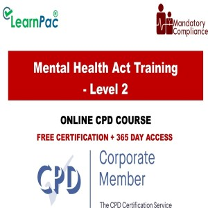 Mental Health Act Training - Level 2 - Mandatory Training Group UK -