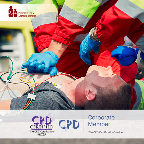 Resuscitation Adult CSTF – Online Training Course – CPD Accredited – Mandatory Compliance UK –