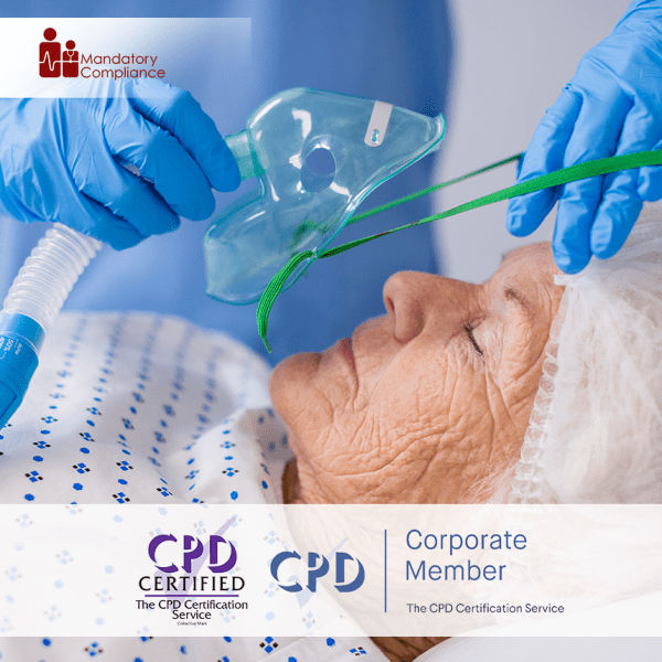 Safe Handling and Administration of Medical Gases – Online Training Course – CPD Accredited – Mandatory Compliance UK –
