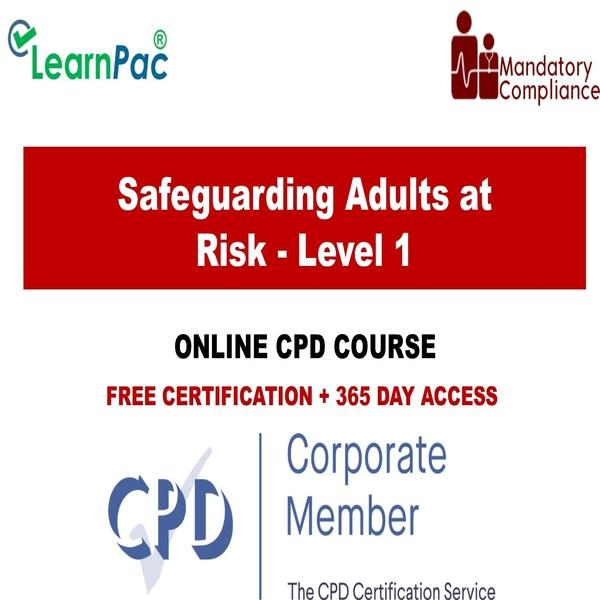 Safeguarding Adults at Risk – Level 1 – The Mandatory Training Group UK –