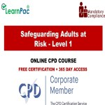 Safeguarding Adults at Risk – Level 1 – The Mandatory Training Group UK –