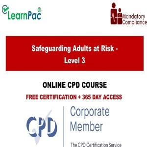 Safeguarding Adults at Risk - Level 3 - Mandatory Training Group UK -