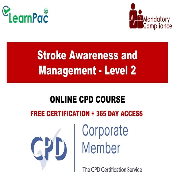 Stroke Awareness and Management – Level 2 – The Mandatory Training Group UK –