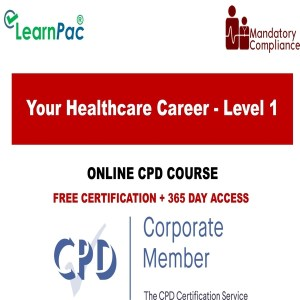 Your Healthcare Career - Level 1 - The Mandatory Training Group UK -