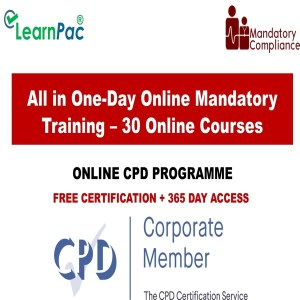 All in One-Day Online Mandatory Training – 30 Online Courses - Mandatory Training Group UK
