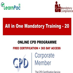 All in One Mandatory Training - 20 Online Courses - Mandatory Training Group UK -