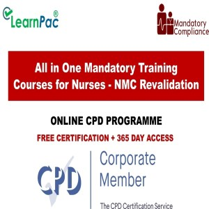 All in One Mandatory Training Courses for Nurses - NMC Revalidation - Mandatory Training Group UK -
