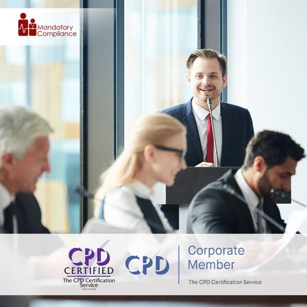 Attention Management Training – Online Training Course – CPDUK Accredited – Mandatory Compliance UK –
