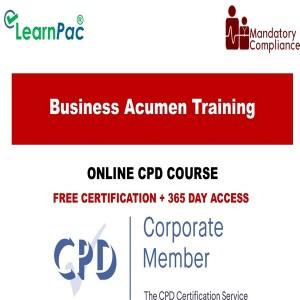 Business Acumen Training - Mandatory Training Group UK -