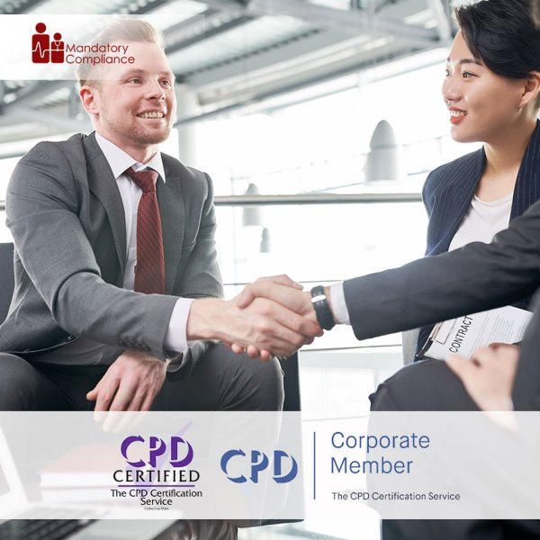 Business Etiquette – Online Training Course – CPDUK Accredited – Mandatory Compliance UK –
