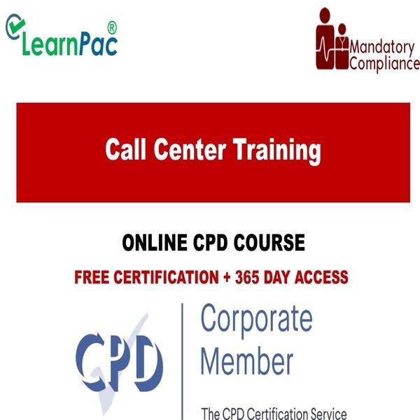 Call center training – Mandatory Training Group UK –