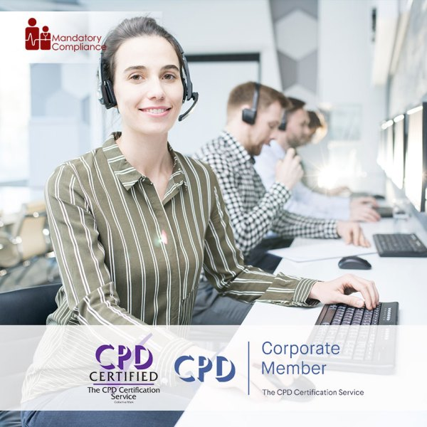 Customer Support – Online Training Course – CPDUK Accredited – Mandatory Compliance UK –