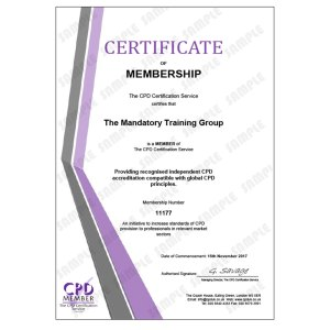 Developing Corporate Behaviour - E-Learning Course - CDPUK Accredited - Mandatory Compliance UK -