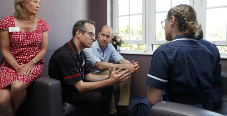 Duke of Cambridge discusses mental health at The Royal Marsden hospital - The Mandatory Training Group UK -
