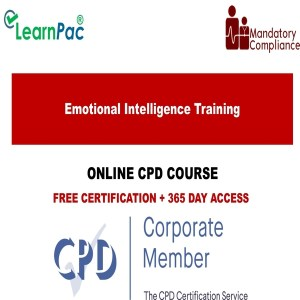 Emotional Intelligence Training – CPD Accredited- Online Training Courses - Mandatory Training Group UK -