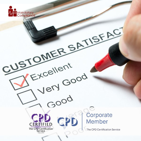 Handling a Difficult Customer – Online Training Course – CPDUK Accredited – Mandatory Compliance UK –