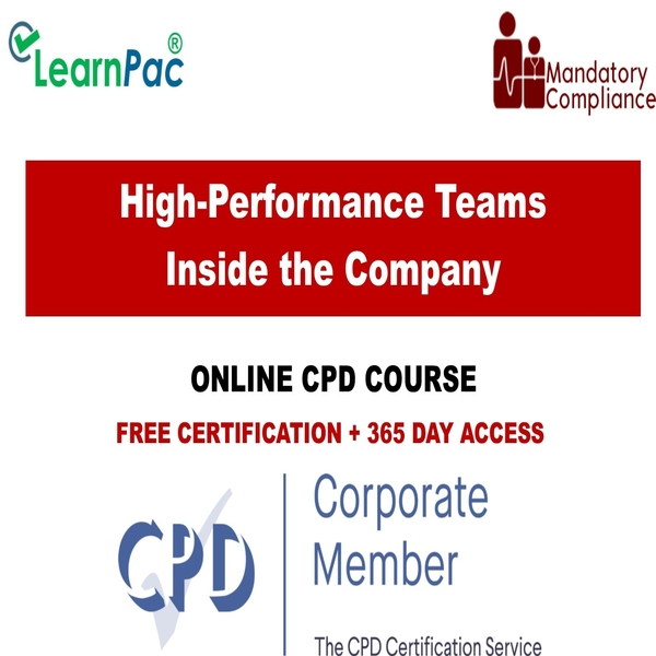 High-Performance Teams Inside the Company – Mandatory Training Group UK –