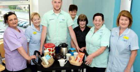 Hospital introduces 'comfort trolleys' for the families of palliative care patients - MTG UK -