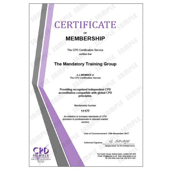 Improving Mindfulness Training- E-Learning Course – CDPUK Accredited – Mandatory Compliance UK –