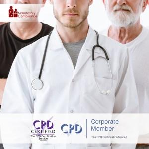 Mandatory Health Care Training Courses - Online Training Course - CPD Accredited - Mandatory Compliance UK