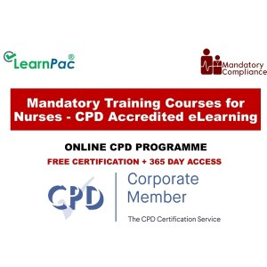 Mandatory Training Courses for Nurses - CPD Accredited eLearning - Mandatory Training Group UK -