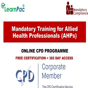 Mandatory Training for Allied Health Professionals (AHPs) - Mandatory Training Group UK -