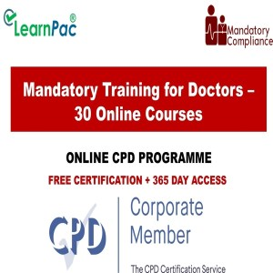 Mandatory Training for Doctors – 30 Online Courses - Mandatory Training UK -