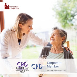 Mandatory Training for Domiciliary Care Staff - Online Training Course - CPD Accredited - Mandatory Compliance UK -