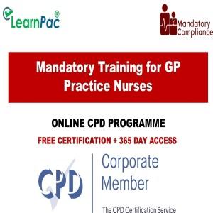 Mandatory Training for GP Practice Nurses - Mandatory Training Group UK -