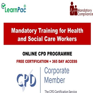 Mandatory Training for Health and Social Care Workers - Mandatory Training Group UK -