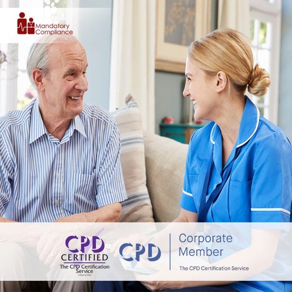 Mandatory Training for Residential Care Home Workers – Online Training Course – CPD Accredited – Mandatory Compliance UK –