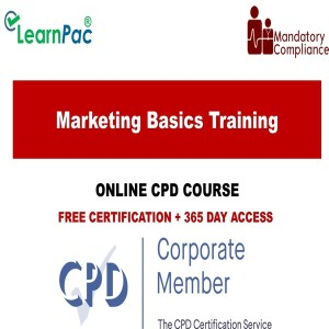 Marketing Basics Training - Mandatory Training Group UK -