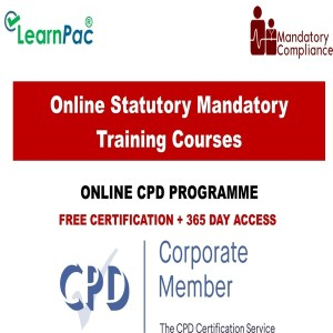 Online Statutory Mandatory Training Courses - CPD Accredited - Mandatory Train ing Group UK -