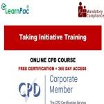 Taking Initiative Training - Mandatory Training Group UK -