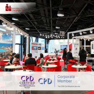 Trade Show Staff Training - Online Training Course - CPD Accredited - Mandatory Compliance UK -