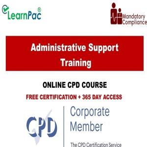 Admistrative support training - Mandatory Training Group UK -