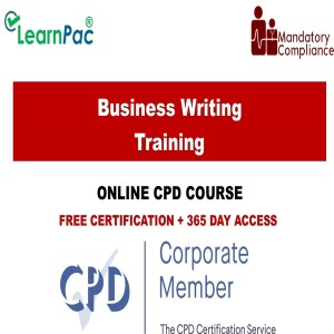 Business Writing Training - Mandatory Training Group UK -