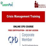 Crisis Management Training - Mandatory Training Group UK -