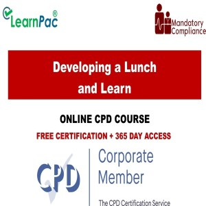 Developing a Lunch and Learn - Mandatory Training Group UK -