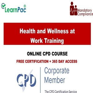 Health and Wellness at Work Training - Mandatory Training Group -