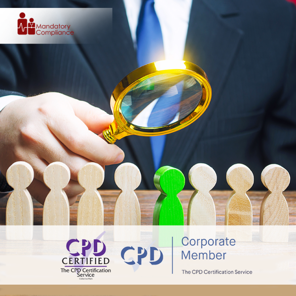 Hiring Strategies Training – Online Training Course – CPD Accredited – Mandatory Compliance UK –