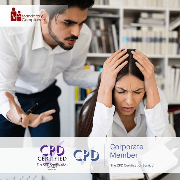 Workplace Harassment – Online Training Course – CPD Accredited – Mandatory Compliance UK –