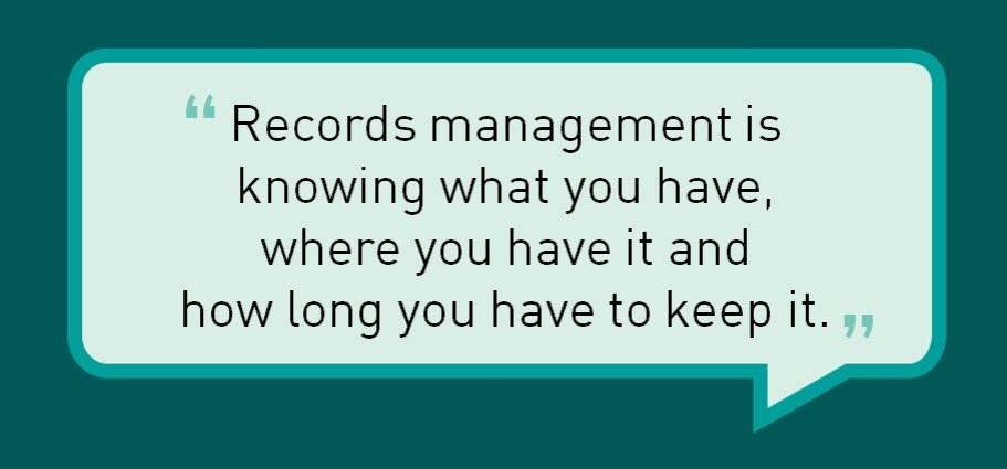 Archiving and Records Management - MTG UK