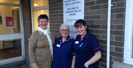 Nurse retires from Cardigan Health Centre - MTG UK