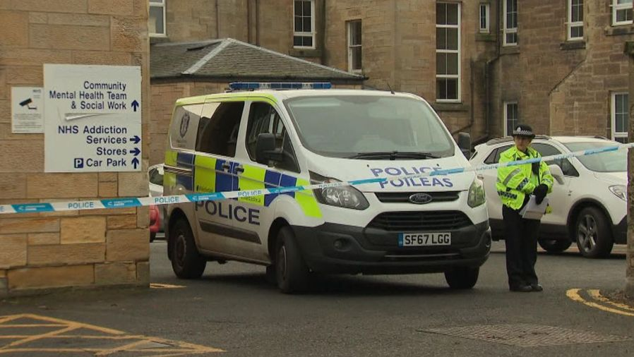 Police hunt woman after health worker stabbed at Ailsa Hospital - MTG UK