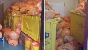 Medical waste backlog at failed firm to be cleared 2 - Mandatroy Training Group UK-