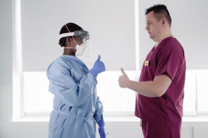 New personal protective equipment (PPE) guidance for NHS teams - The Mandatory Training Group UK -