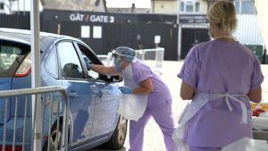 Coronavirus test workers 'making personal sacrifices' - The Mandatory Training Group UK -
