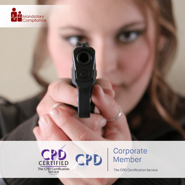 Active Shooter Awareness – Online Training Course – CPD Accredited – Mandatory Compliance UK –